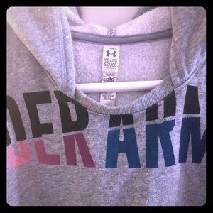 Under Armour ColdGear Deep Rounded Neck Sweatshirt